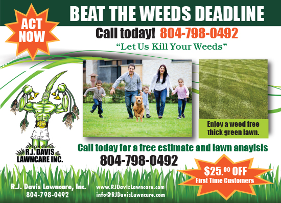 Beat the Weeds Deadline