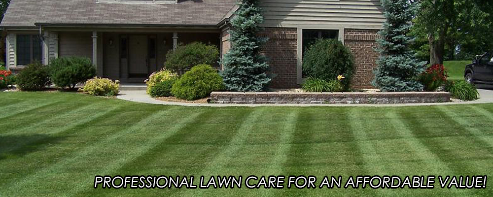 Front yard and professional lawn care services in Ashland, VA.